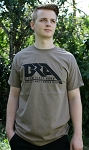 Black Rifle Arms Brown Savana Logo T-Shirt